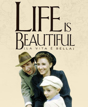 Poster Of Life Is Beautiful In Dual Audio Hindi English 300MB Compressed Small Size Pc Movie Free Download Only At worldfree4u.com