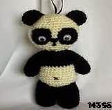 patron gratis oso panda amigurumi, free amigumi pattern panda bearamigurumi