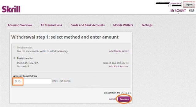 cara withdraw skrill 2