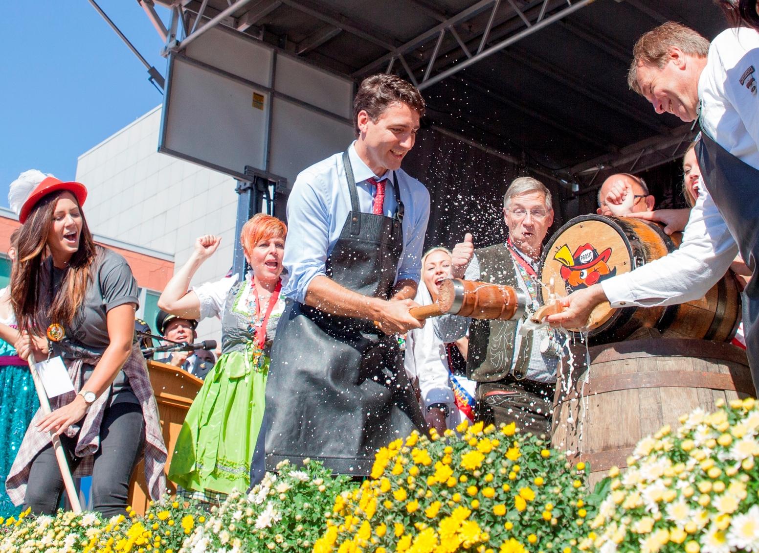 Oktoberfest fun in Kitchener