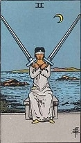 The Two of Swords, RWS