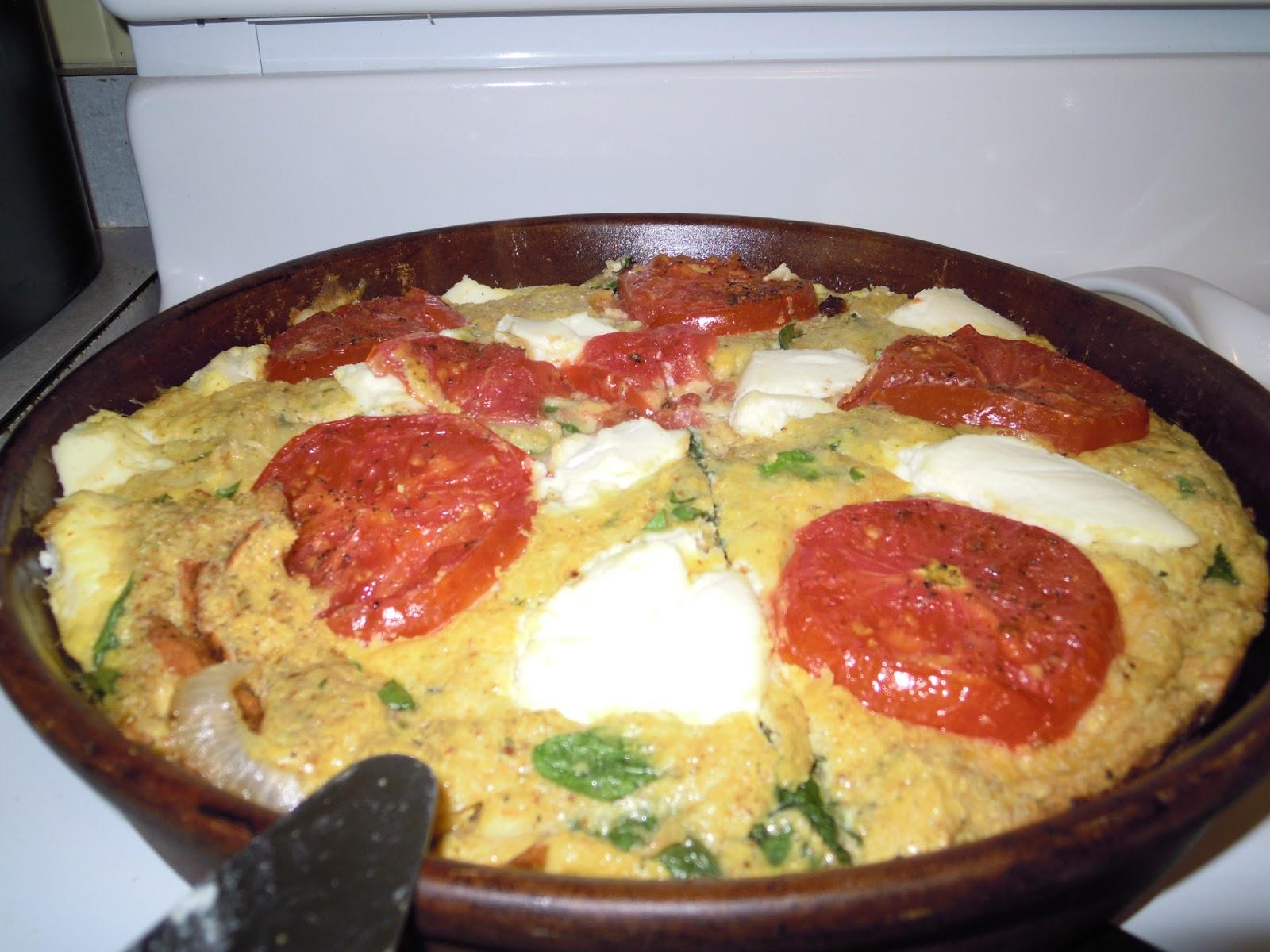 Lidia S Kitchen Baking A Frittata