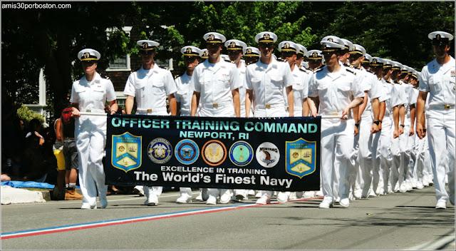Marines Desfile 4 de Julio en Bristol