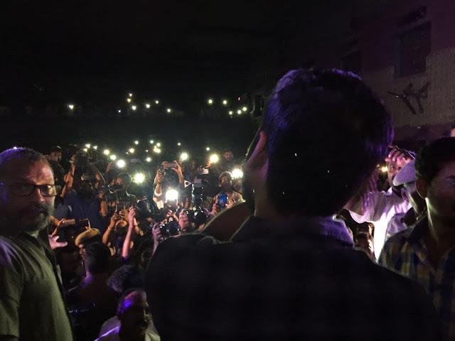 Dhanush Kodi Movie Promotion In Coimbatore | Dhanush Fans Hungama
