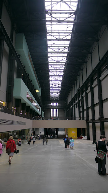 Tate Modern London Britain Visitor