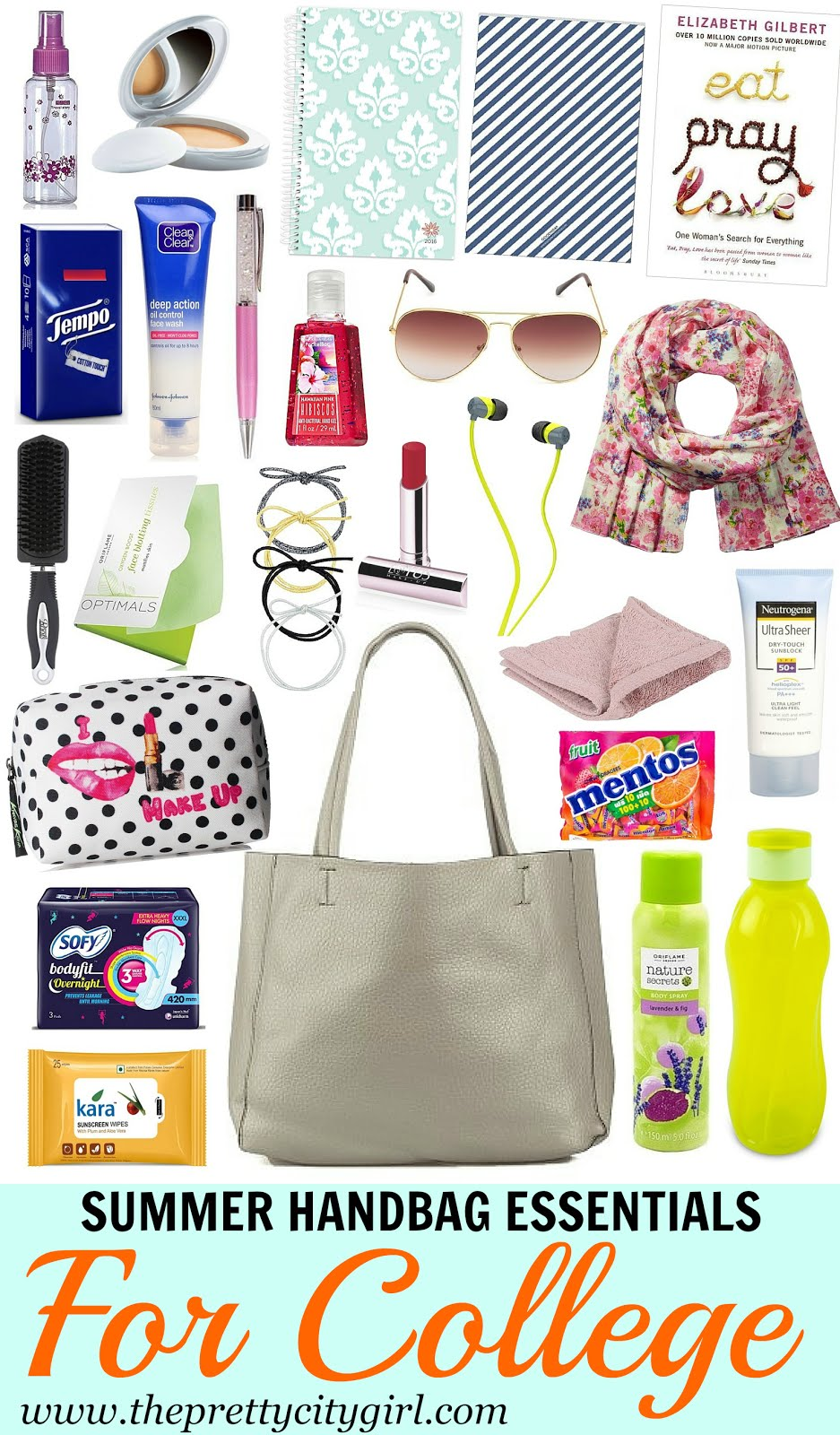 Summer Handbag Essentials For College