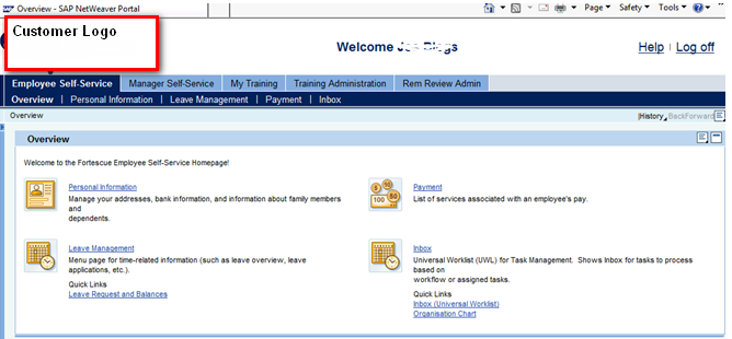 Journey into SAP HCM and ABAP: Understanding ESS/MSS Homepage