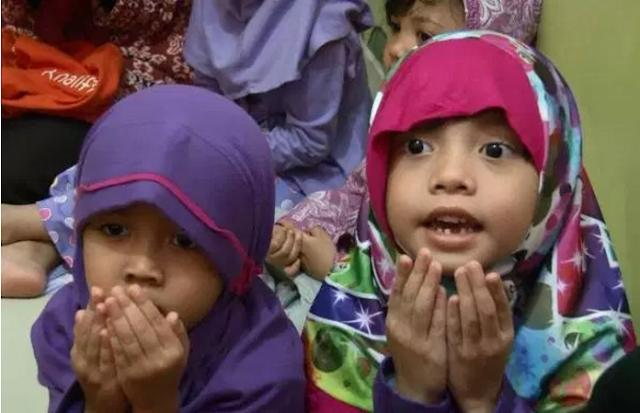 Peringati Hari Kartini, Murid TK Doakan WNI Disandera Abu Sayyaf