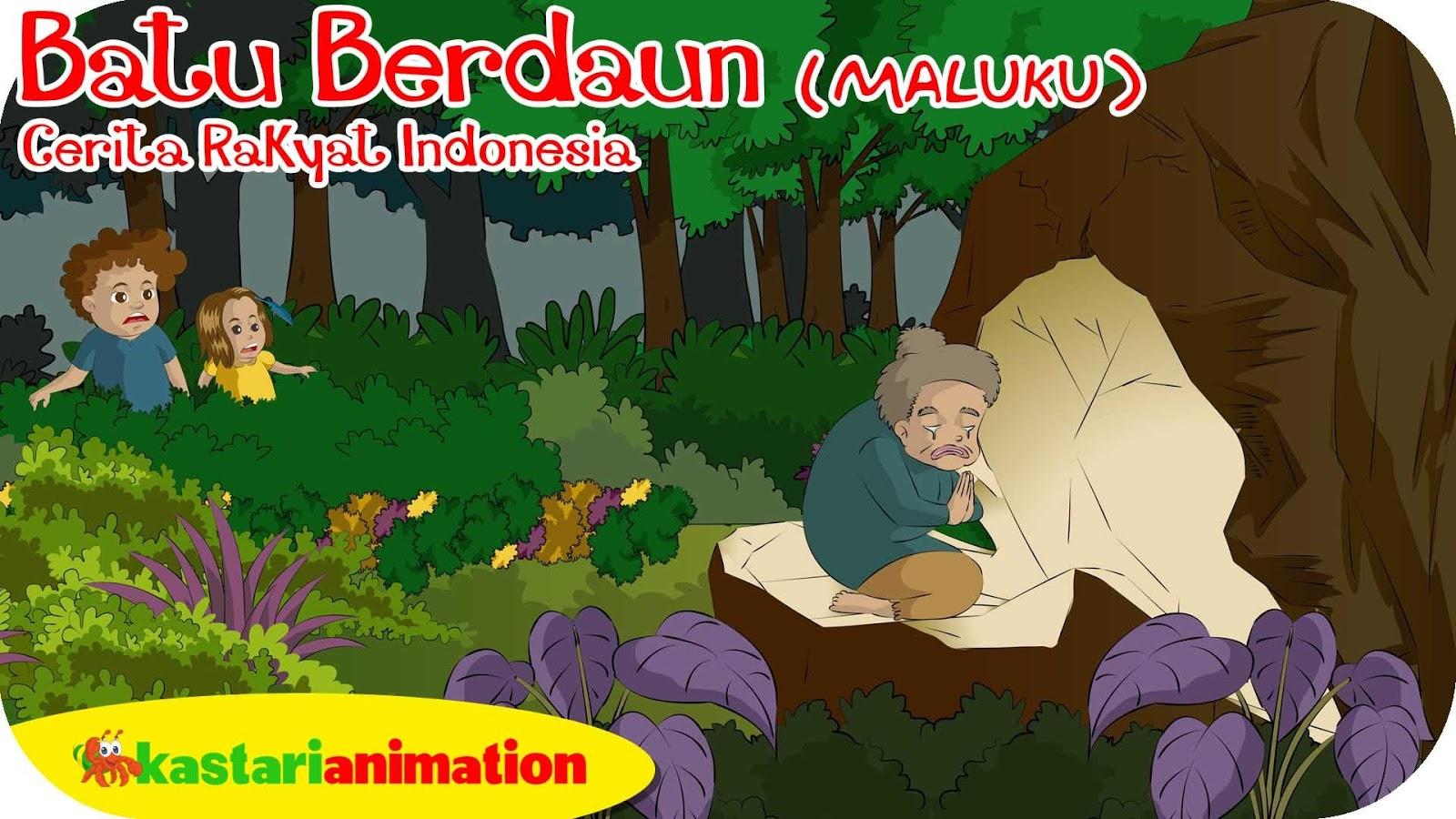 Batu Badaong Maluku Folklore Kebun Cerita