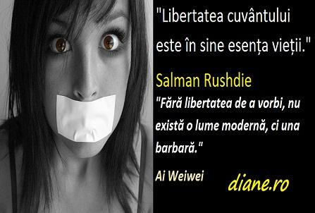 Citate, maxime despre libertatea cuvântului