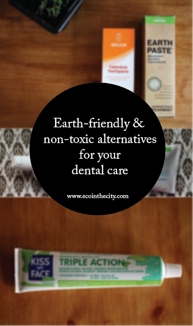 Earth-friendly and non-toxic alternatives for your dental care