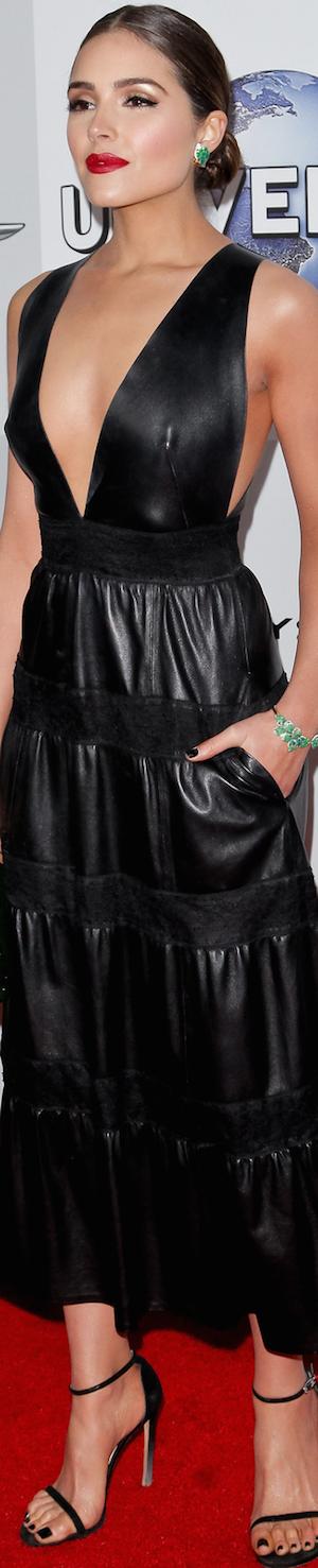 Olivia Culpo 2016 Golden Globes