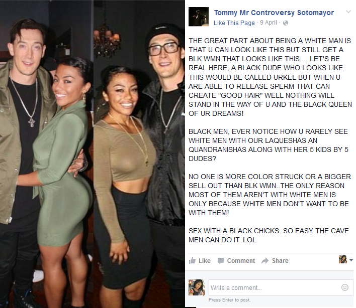 black girls wanting white men