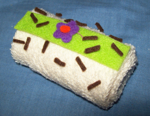 towel misis cake