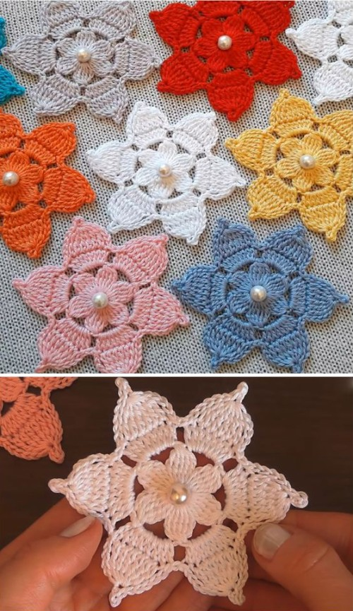 Crochet Amazing Flower For Beginners - Tutorial