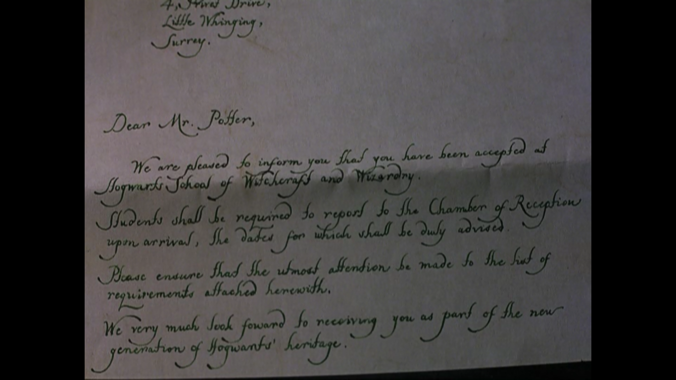 Harry Potter Brief