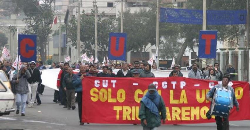 Trabajadores marcharán a nivel nacional para que se respete la negociación colectiva