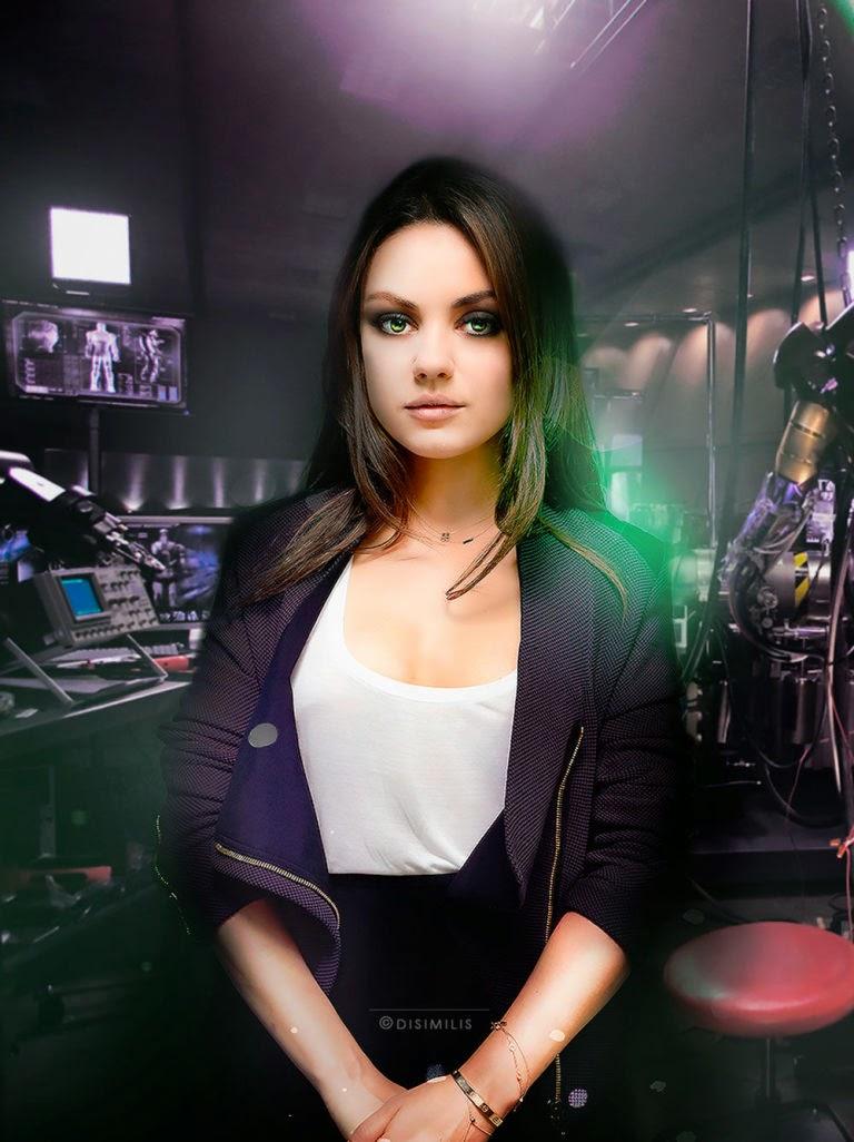 Mila Kunis como Bruce Banner