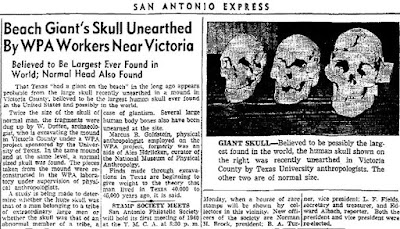 Real Giant skulls have been found in America.
