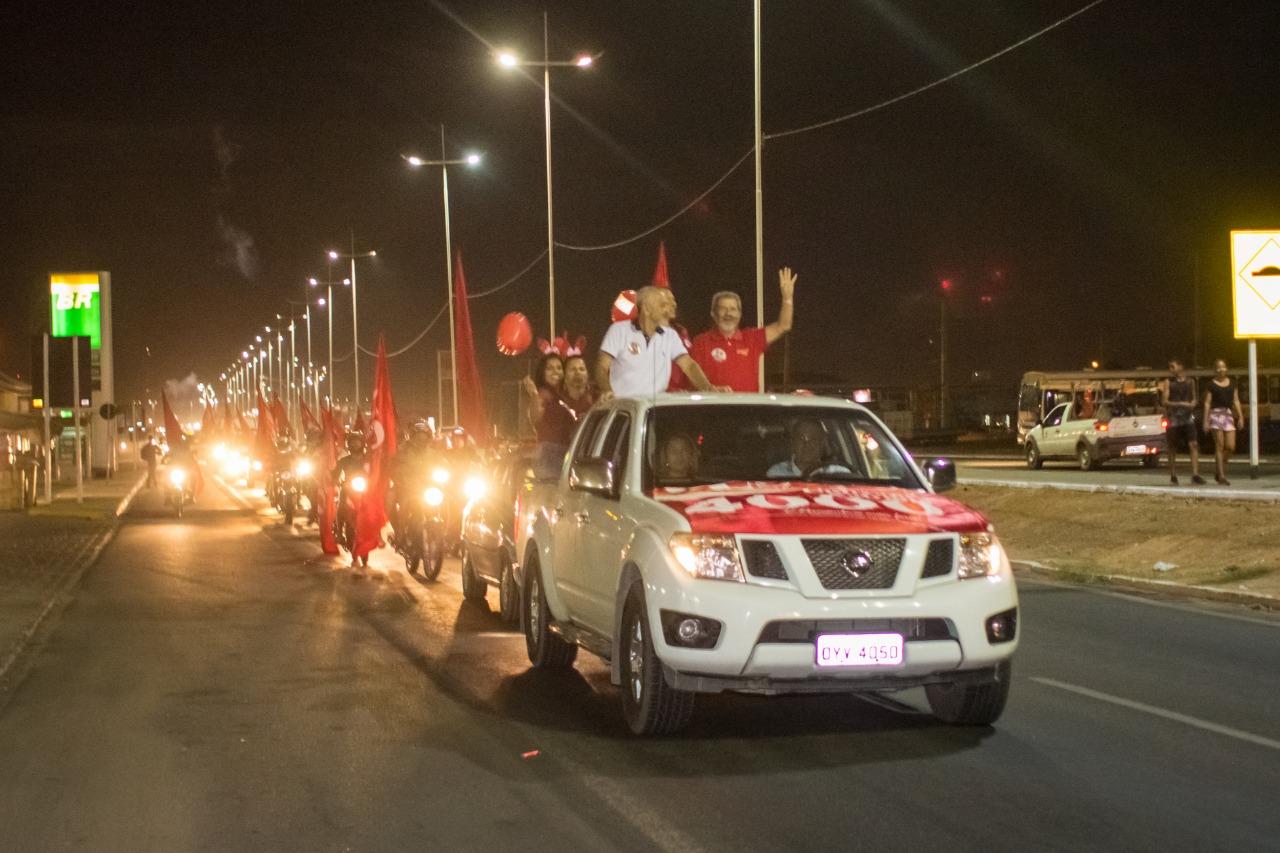 Grande carreata marca inauguração do Ponto 4000 de Gonzaga Patriota em  Petrolina ~ Blog do Patricio Nunes