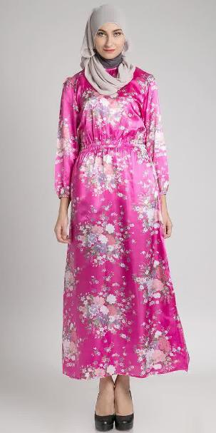Gaun Hamil Batik Muslim Paling Populer