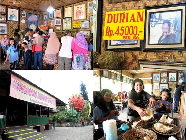 Warung Warso Farm Agro wisata buah durian Bogor Jawa Barat