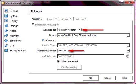 4 Cara Mudah Untuk Setting Mode Jaringan Pada VirtualBox