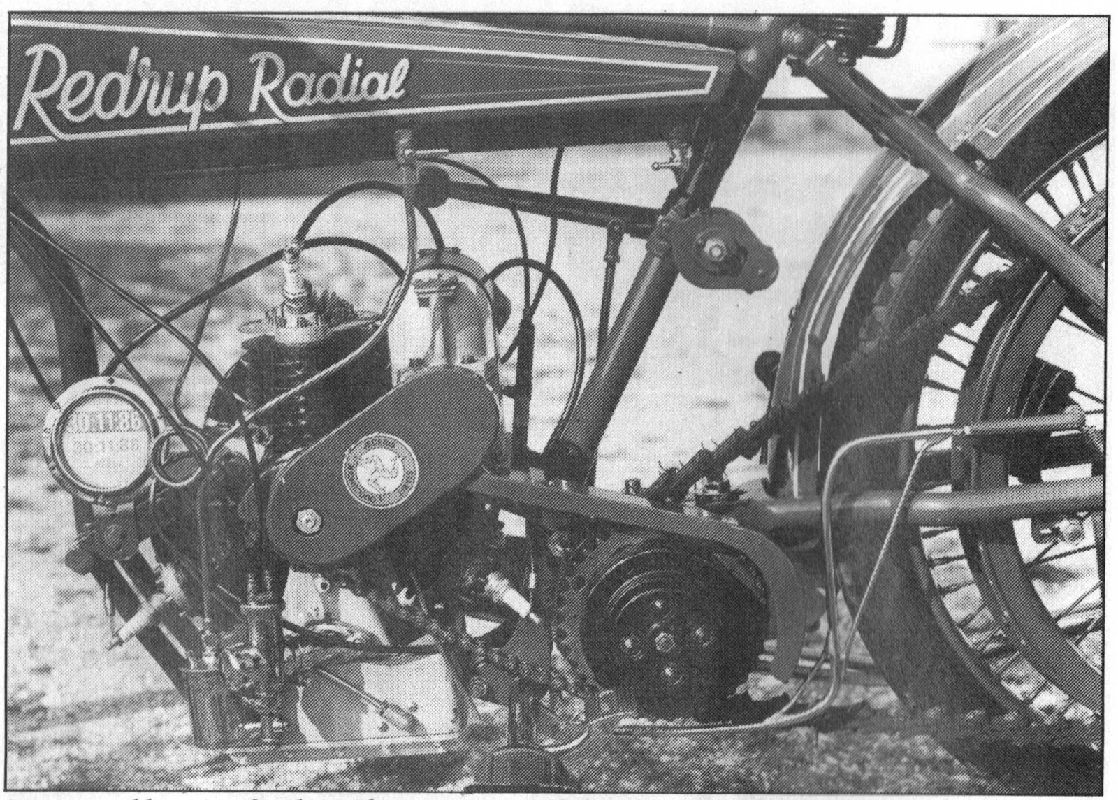 Ariel Square Four Engine Cutaway T Motorcycle Brochure Showing The New 1000cc Sq4 1939 Diagram Of Thirty These Engines Were Used By British Radial Co Who Installed Them In Frames Built Chater Lea There Cant Be Many Left