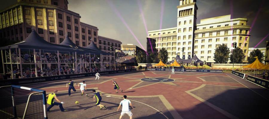 تحميل لعبة فيفا ستريت fifa street apk لعبة كرة قدم الشوارع للاندرويد psp