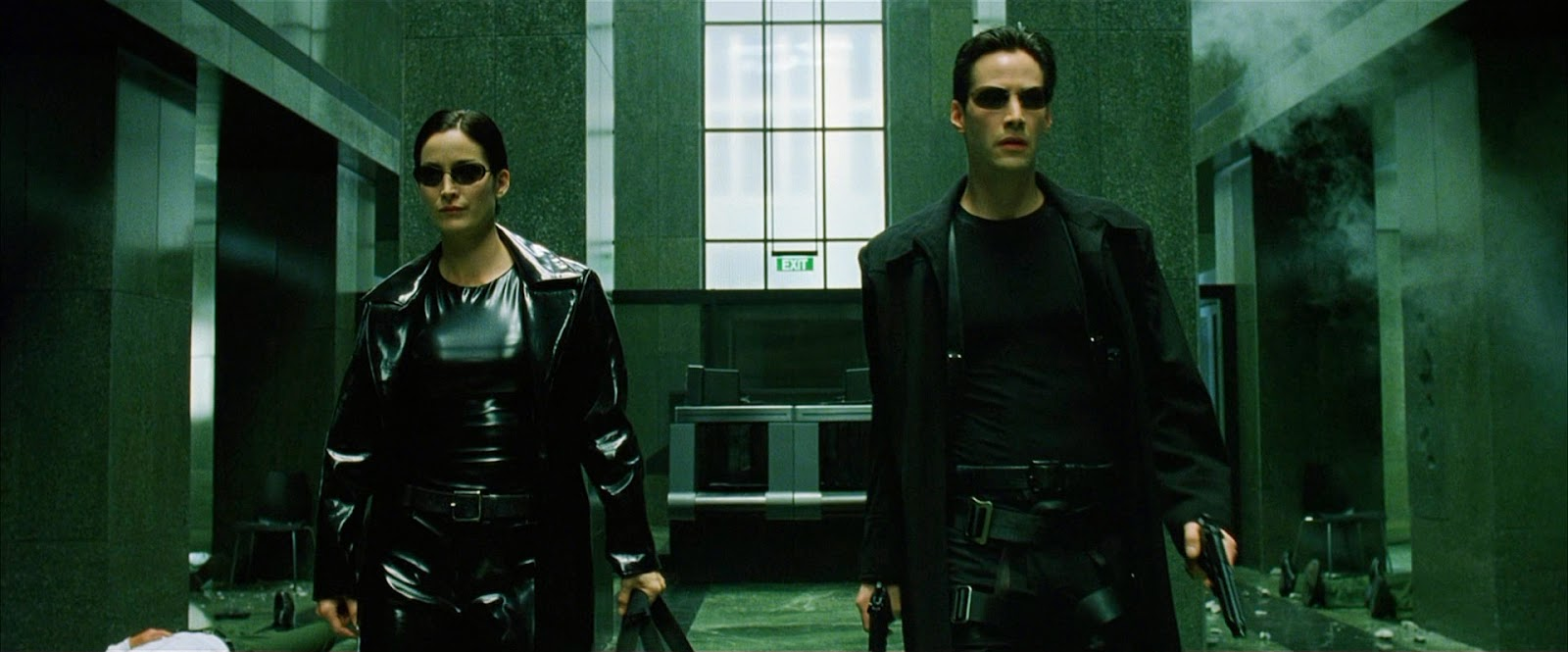 The Ace Black Movie Blog Movie Review The Matrix 1999