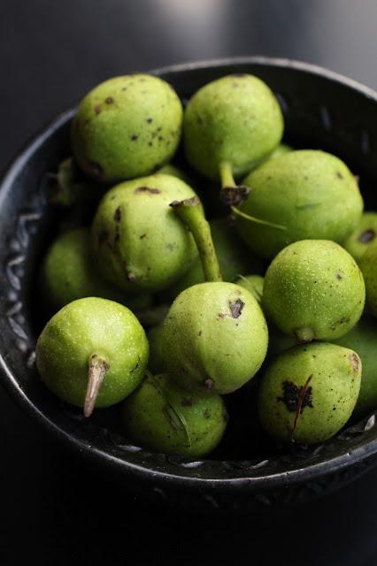 recette maison noix vertes