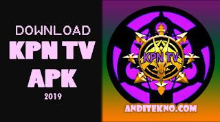 KPN TV APK, Aplikasi Nonton TV Gratis Terbaru 2019
