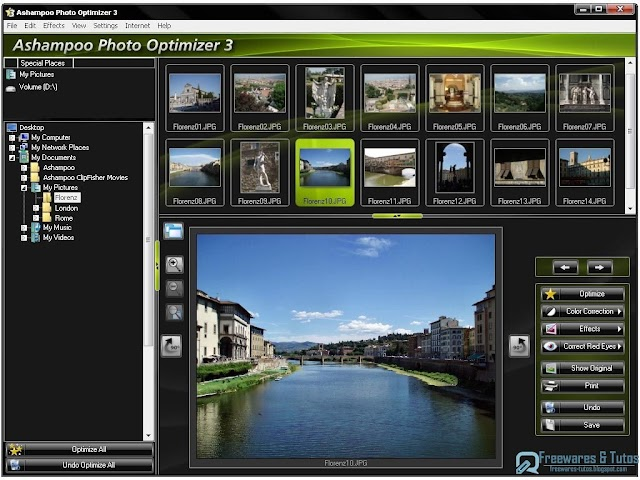 Offre promotionnelle : Ashampoo Photo Optimizer 3 gratuit !