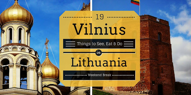 Weekend City Break in Vilnius Lithuania