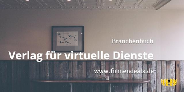 Branchenbuch | Verlag für virtuelle Dienste | www.firmendeals.de | Carmen Homer