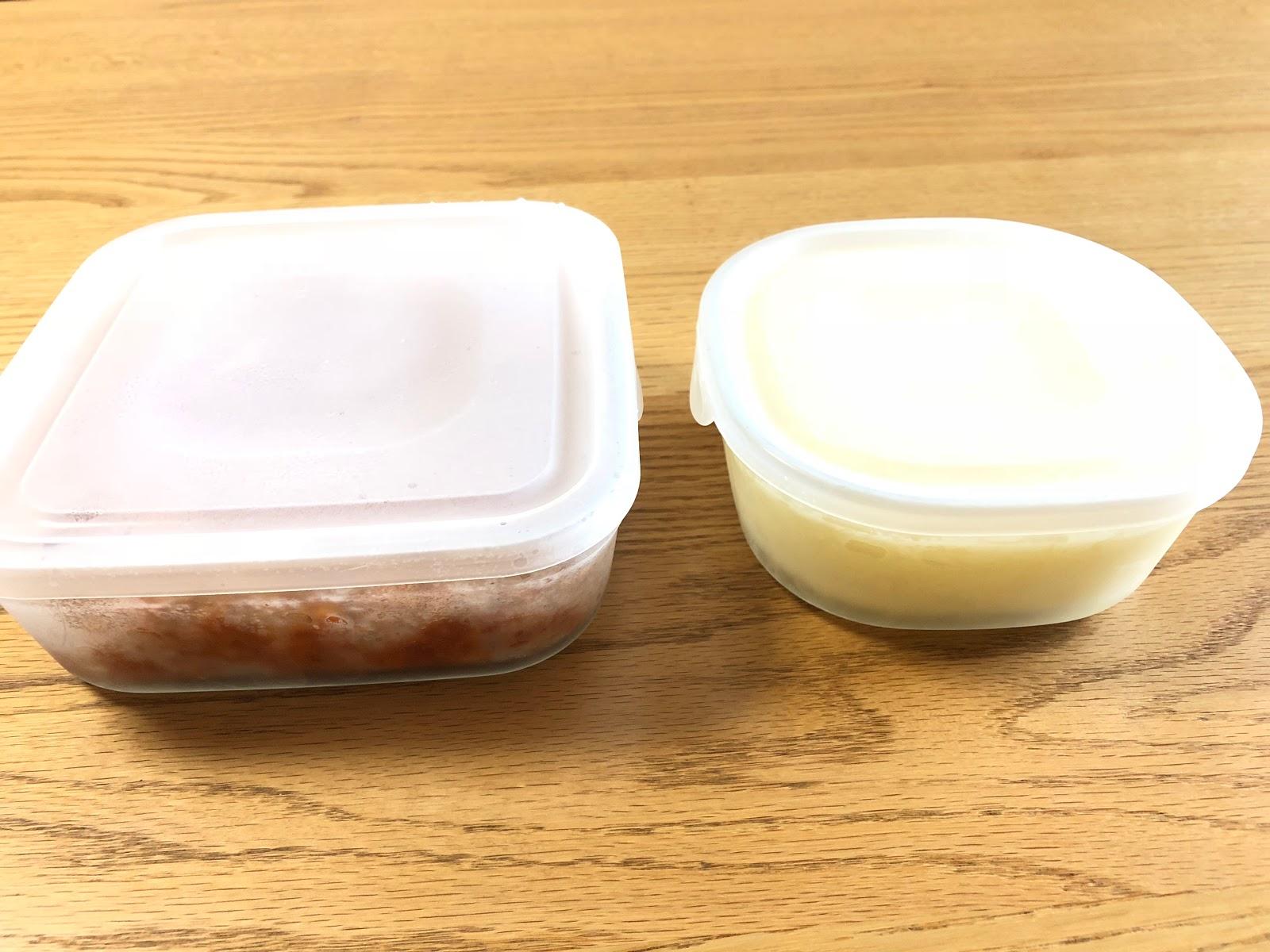 ミートソース&ホワイトソース