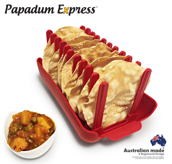 Cook 10 Papadums Or Papads In The Microwave Fast In Minutes Papadum Express 174 Aloo Mutter