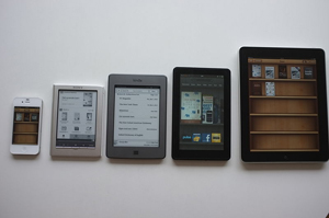 Distintos e-readers