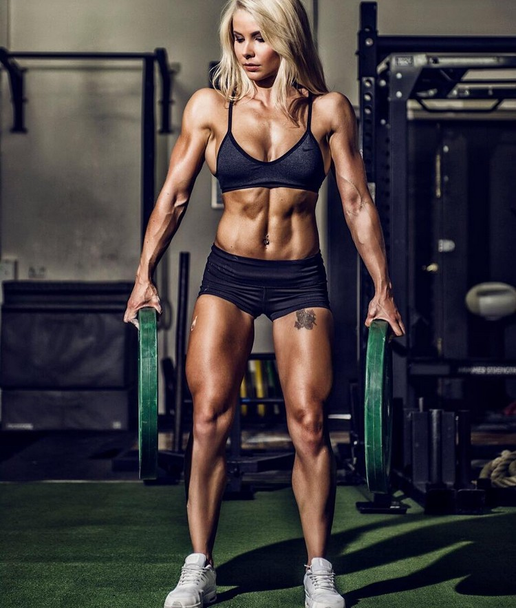 Jaz Correll fitness model motivation