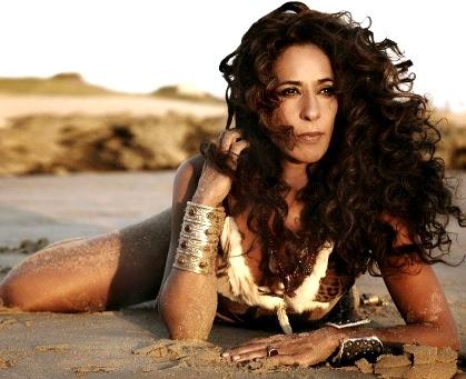Sesión fotográfica de la cantante Rosario Flores