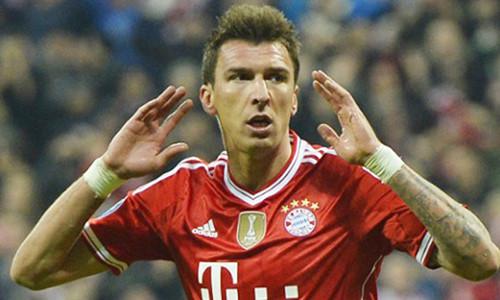 Mandzukic trong màu áo Bayern