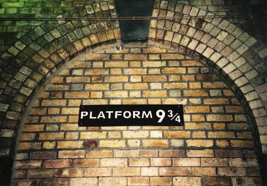 King's Cross Station, Harry Potter, Hoghwart, J.K. Rowling, Platform