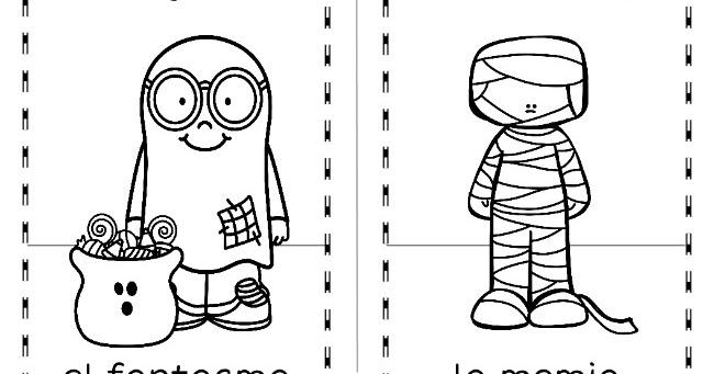 Mommy Maestra: Fun Stuff: Bilingual Halloween Printables