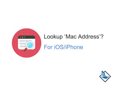 วิธีการดู Mac Address ใน  iPhone