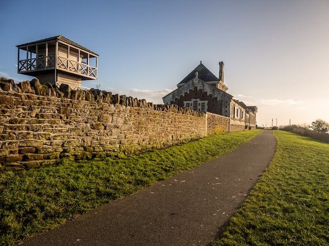 Photo of the Roman Museum on the the Sea Brows at Maryport