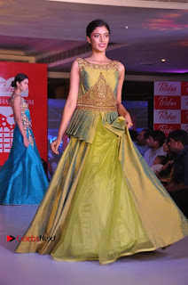 South Indian Celebrities Pos at Love For Handloom Collection Fashion Show  0063.jpg