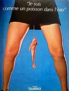 French Tampax Ad