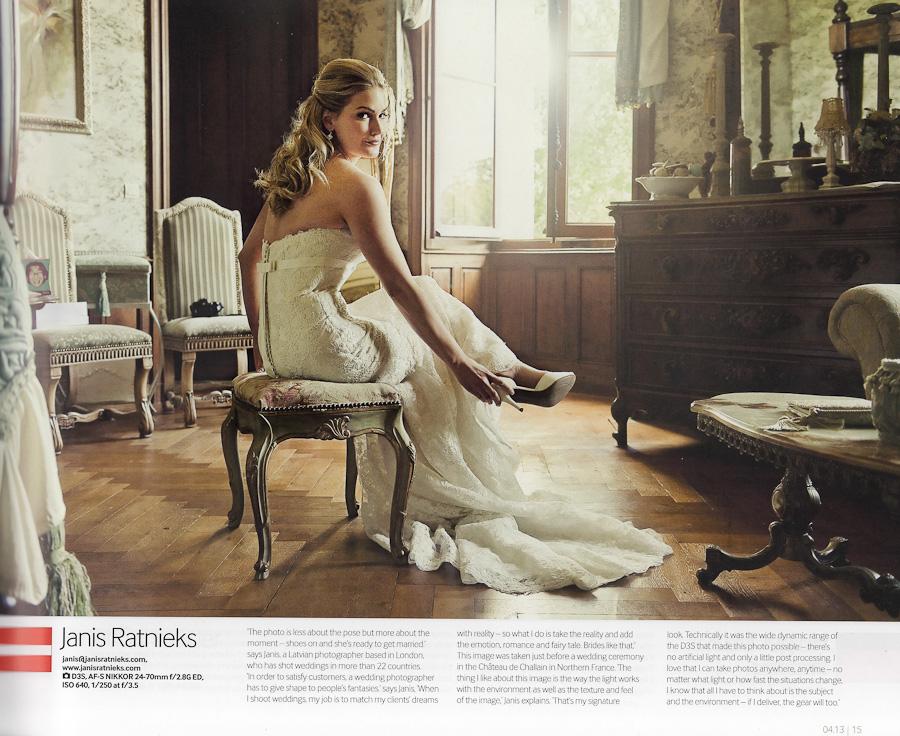 Nikon Wedding Photography: NIKON PRO MAGAZINE SELECTED WEDDING PHOTOGRAPHER