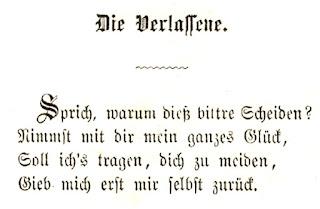 Mathilde Wesendonck: Die Verlassene. 1862