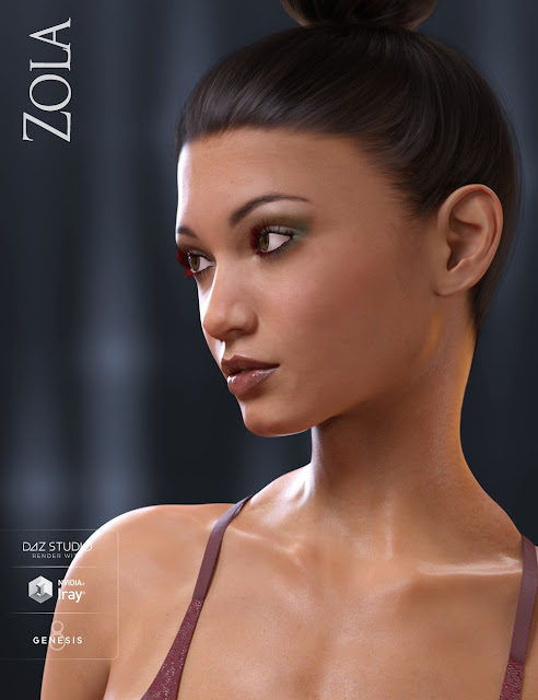 Zola HD for Genesis 8 Female